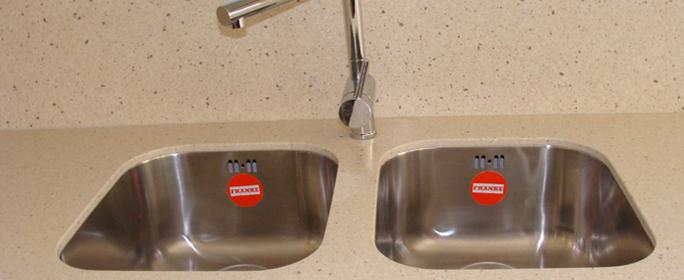 A dupla mosogató közelebbről